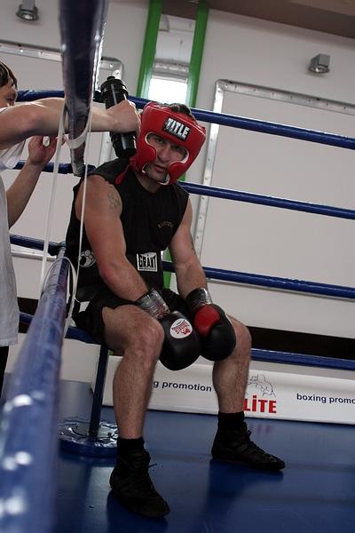 Смотрите фотогалерею Автандил Хурцидзе во время тренировки
