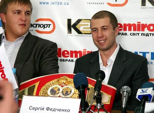Смотрите фотогалерею Сергей Федченко на пресс-конференции в Черкассах перед боем c Хуаном Альберто Годоем