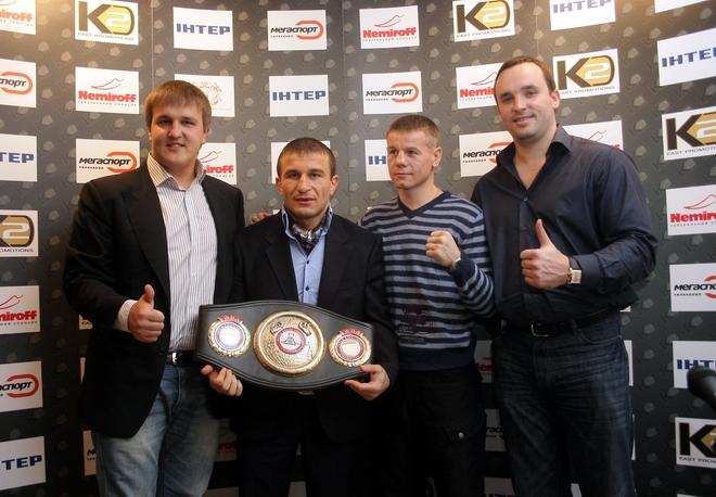 See gallery Alexander Krassyuk, Avtandil Khurtsidze, Yuriy Nuzhnenko and Sergey Kudaktin