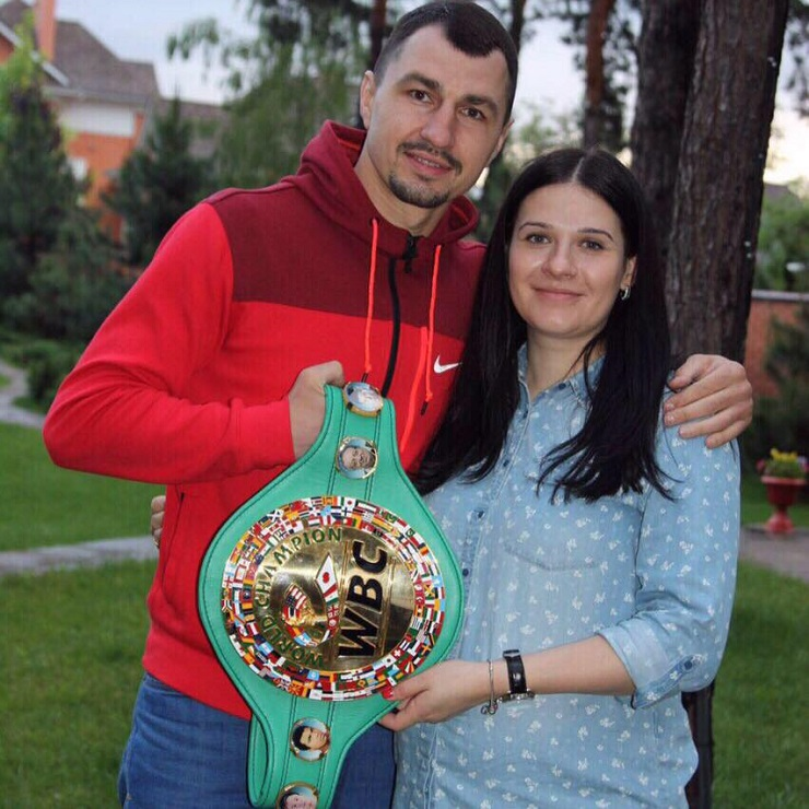 See gallery Viktor Postol together with his wife Olga