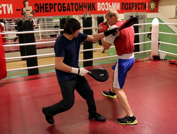 Смотрите фотогалерею Дмитрий Кучер во время подготовки